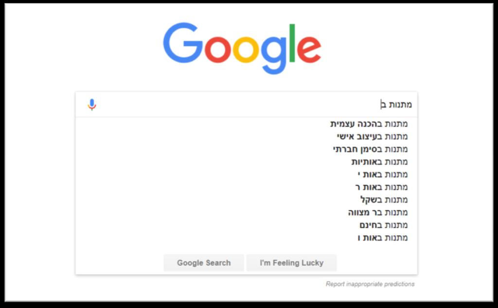 איך למצוא מילות חיפוש 2