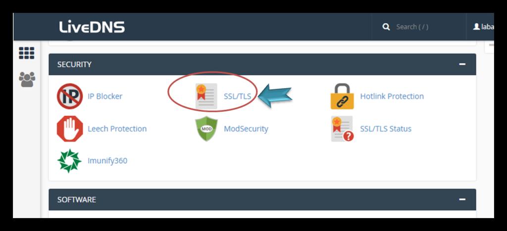 קישור להתקנת SSL