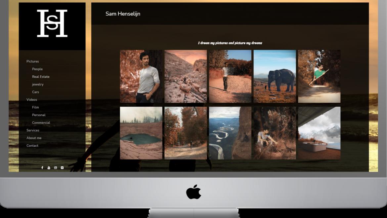 שדרוג אתר וורדפרס עם אלמנטור – Sam Henselijn photography